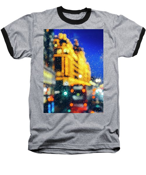 Melancholic London Lights  Baseball T-Shirt