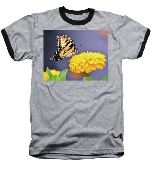 Mellow Yellow Baseball T-Shirt by Kathy Kelly