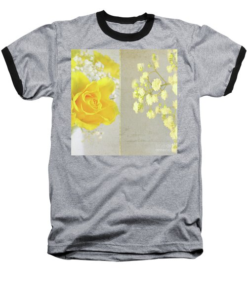 Baseball T-Shirt featuring the photograph Mellow Yellow by Lyn Randle