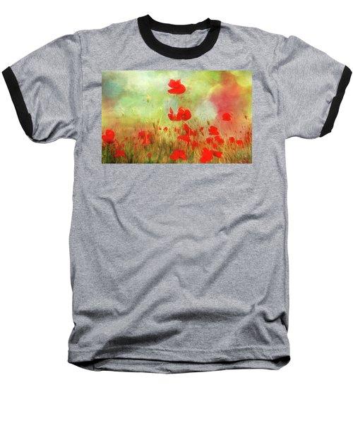 Melody Of Summer Baseball T-Shirt
