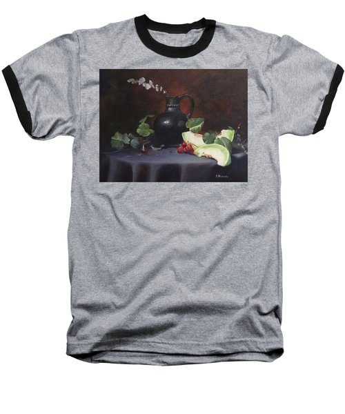 Melon And Vase Baseball T-Shirt