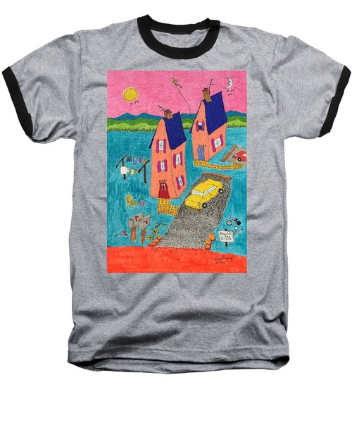Melon Houses Baseball T-Shirt