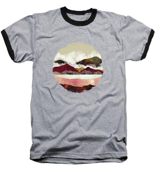 Melon Mountains Baseball T-Shirt by Katherine Smit