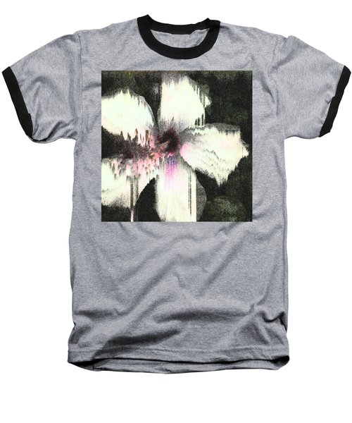 Melting Hibiscus Baseball T-Shirt