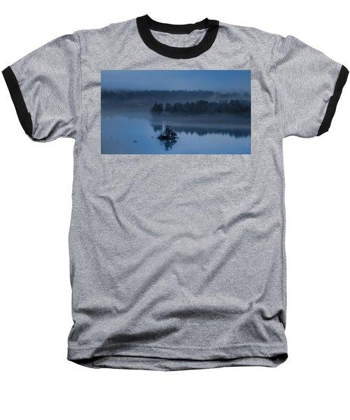 Melvin Bay Blues Baseball T-Shirt