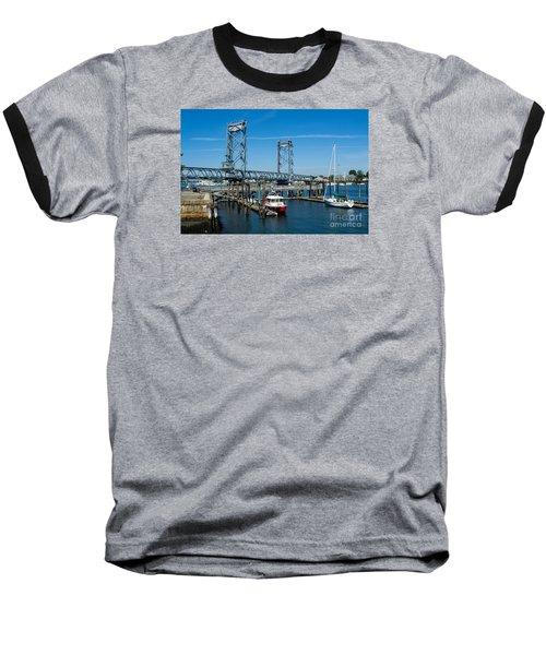 Memorial Bridge Portsmouth Baseball T-Shirt
