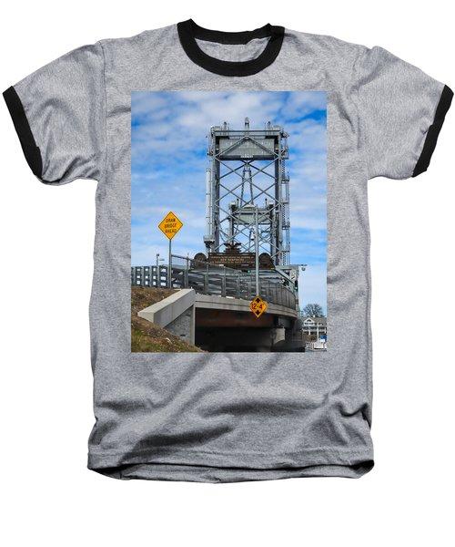 Memorial Bridge Portsmouth  Nh Baseball T-Shirt