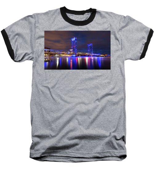 Baseball T-Shirt featuring the photograph Memorial Bridge by Robert Clifford