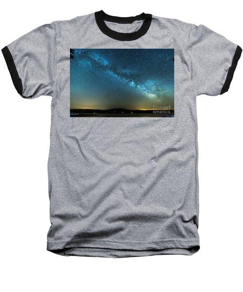 Memorial Day Milky Way Baseball T-Shirt
