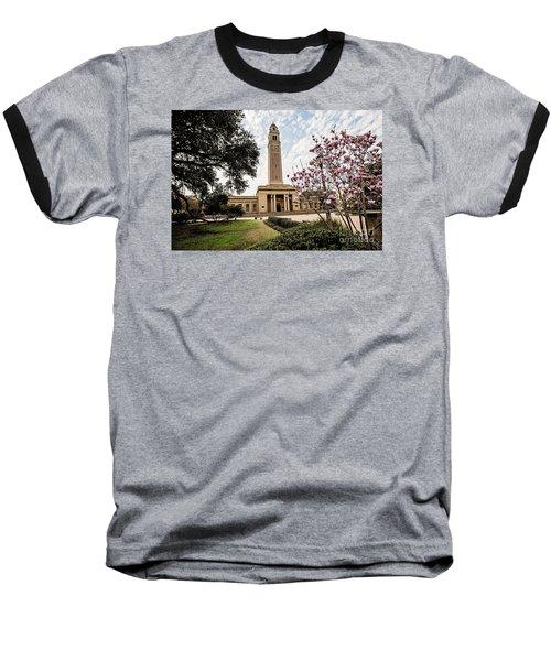 Memorial Tower - Lsu Baseball T-Shirt by Scott Pellegrin
