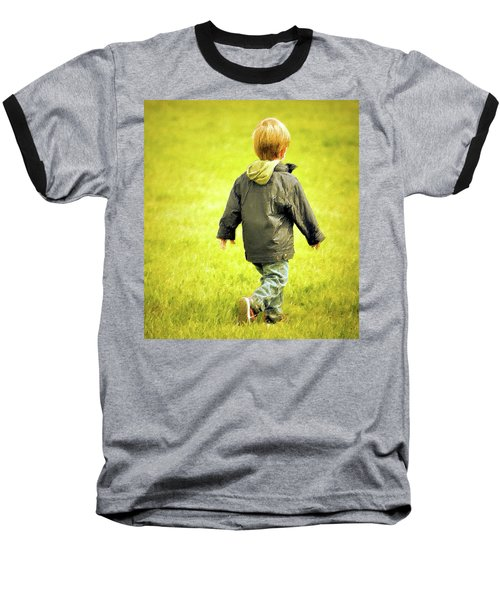 Baseball T-Shirt featuring the photograph Memories... by Barbara Dudley