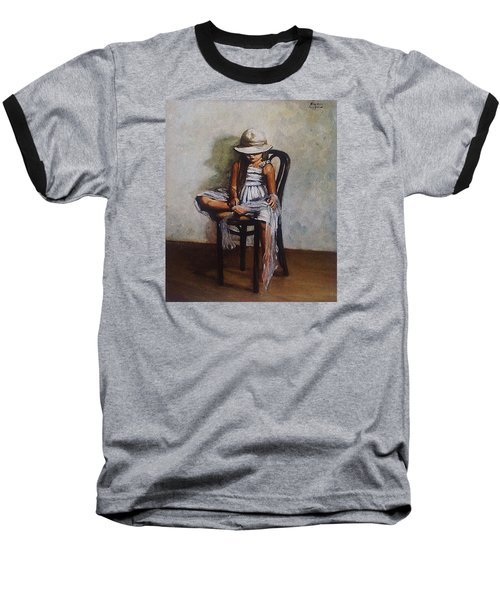 Memories Baseball T-Shirt by Natalia Tejera