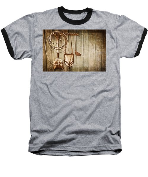 Baseball T-Shirt featuring the photograph Memories Of Grandpa by Carolyn Marshall