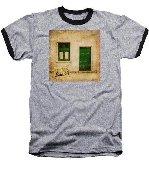 Memories Of Irish Green Baseball T-Shirt by Bellesouth Studio