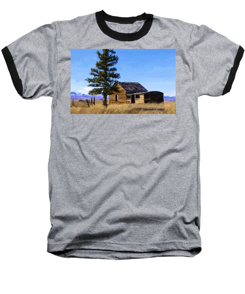 Memories Of Montana Baseball T-Shirt by Susan Kinney