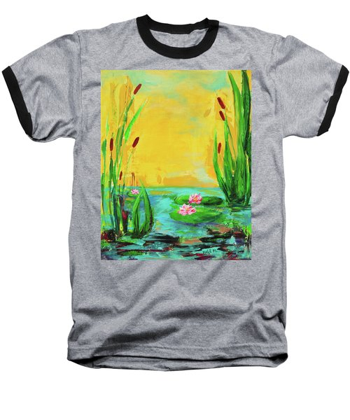 Memories Of The Lake Baseball T-Shirt