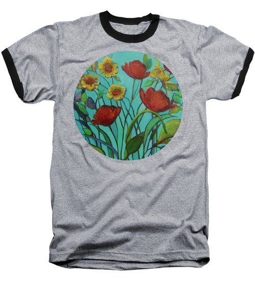 Memories Of The Meadow Baseball T-Shirt