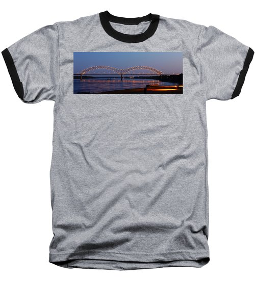 Memphis - I-40 Bridge Over The Mississippi 2 Baseball T-Shirt