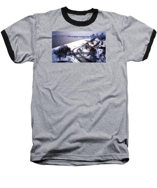 Memphis View From My Penthouse Baseball T-Shirt
