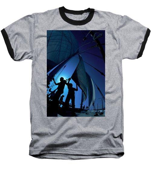 Men At Work Baseball T-Shirt