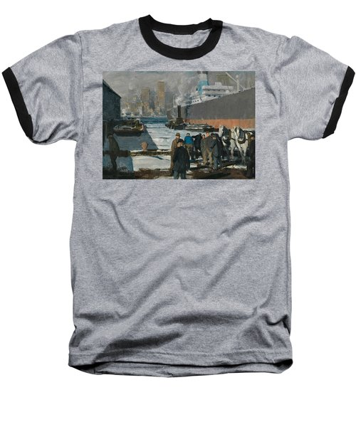 Men Of The Docks Baseball T-Shirt