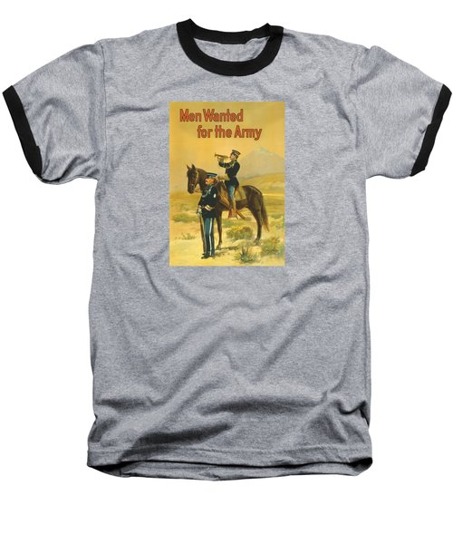Men Wanted For The Army Baseball T-Shirt by War Is Hell Store