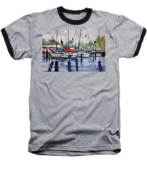 Menominee Marina Baseball T-Shirt