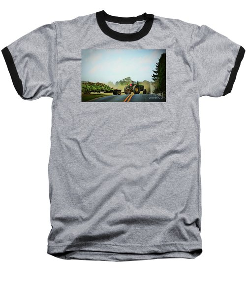 Menonnite Tobacco Farmer And Wife Baseball T-Shirt