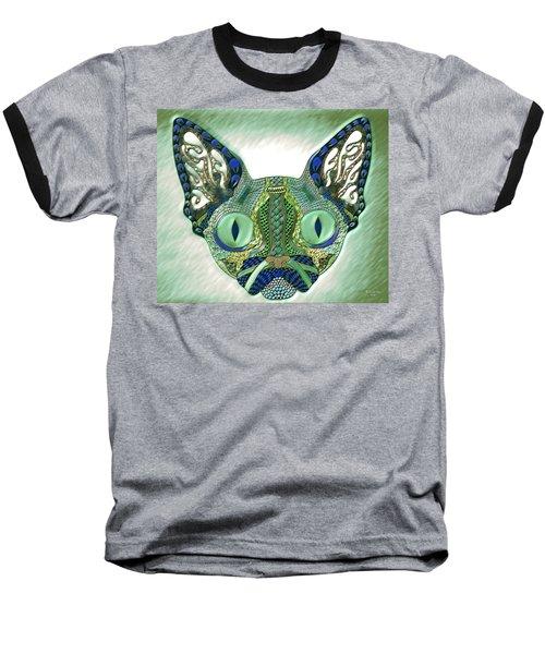 Meow Cat Baseball T-Shirt
