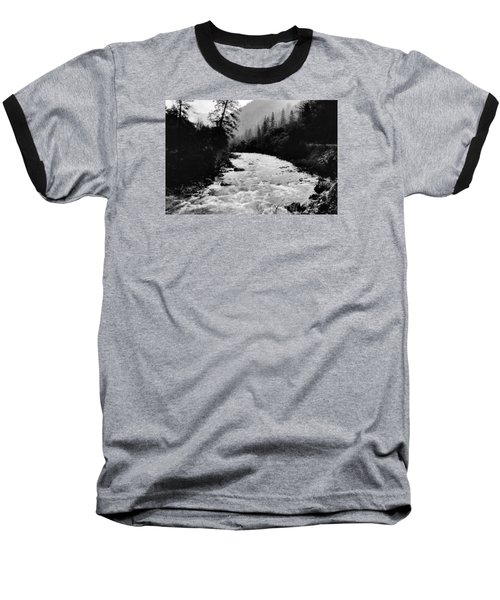 Merced River Canyon Baseball T-Shirt