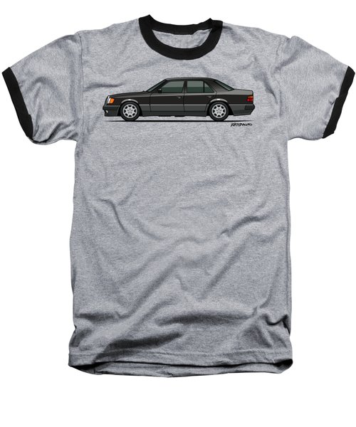 Mercedes Benz 500e W124 Blue-black Metallic Baseball T-Shirt