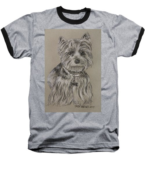 Mercedes The Shih Tzu Baseball T-Shirt