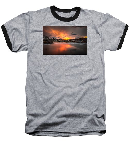 Meredith Sunset Baseball T-Shirt
