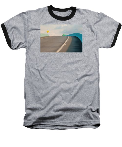 Merge To The Clouds Baseball T-Shirt
