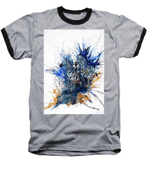 Merging With Shadows Baseball T-Shirt