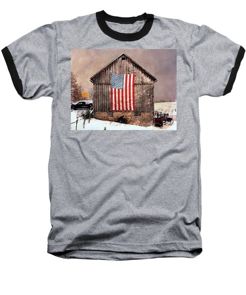 Merica Baseball T-Shirt