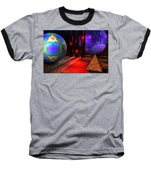 Merlin's Playground Baseball T-Shirt by Lyle Hatch