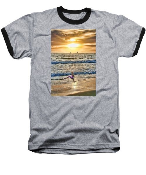 Baseball T-Shirt featuring the photograph Mermaid Of Venice by Michael Cleere