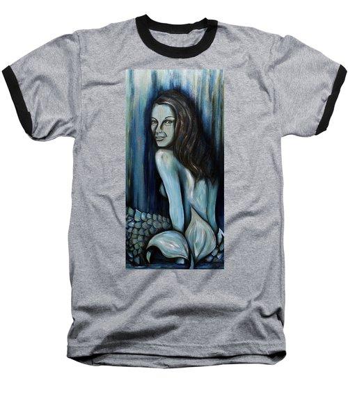 Mermaids Are Real Baseball T-Shirt