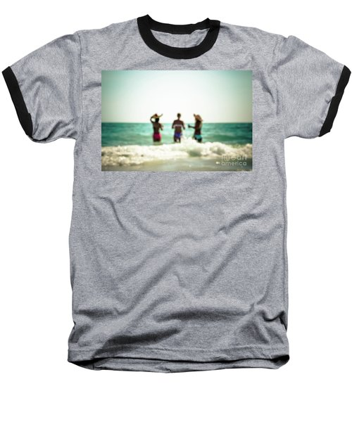 Baseball T-Shirt featuring the photograph Mermaids by Hannes Cmarits