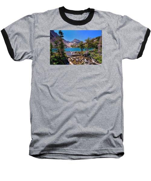 Merriam Lake Baseball T-Shirt by Greg Norrell