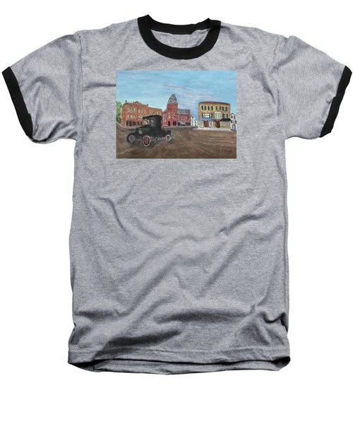 Old New England Town Baseball T-Shirt