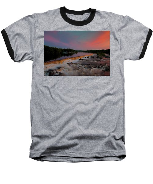 Merrimack River Falls Baseball T-Shirt