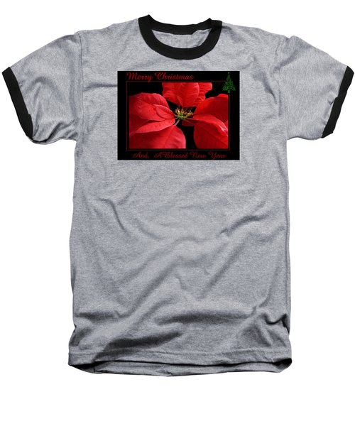 Baseball T-Shirt featuring the photograph Merry Christmas 2015 by Judy Johnson
