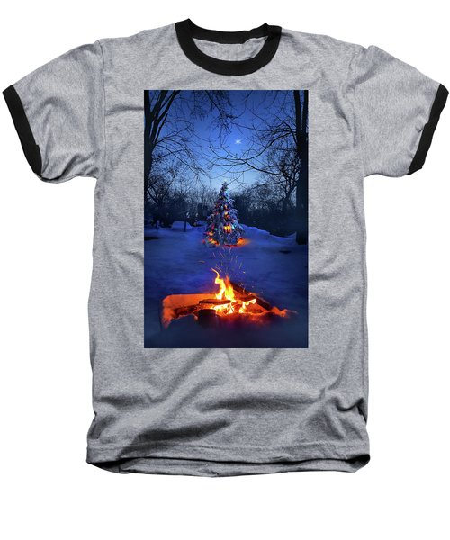 Baseball T-Shirt featuring the photograph Merry Christmas by Phil Koch