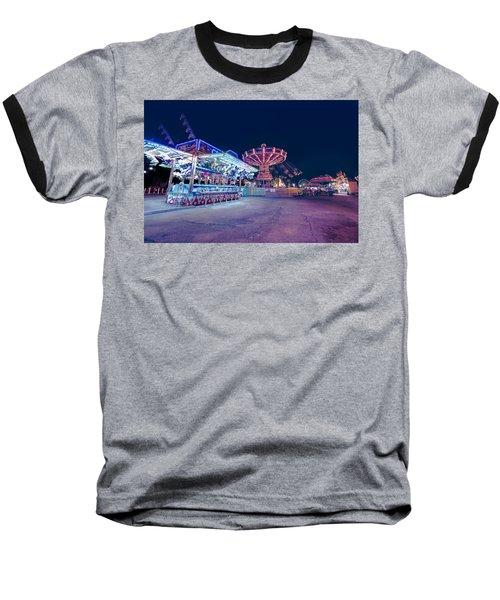 Merry Go Creepy Baseball T-Shirt