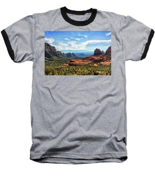 Merry Go Round Arch, Sedona, Arizona Baseball T-Shirt