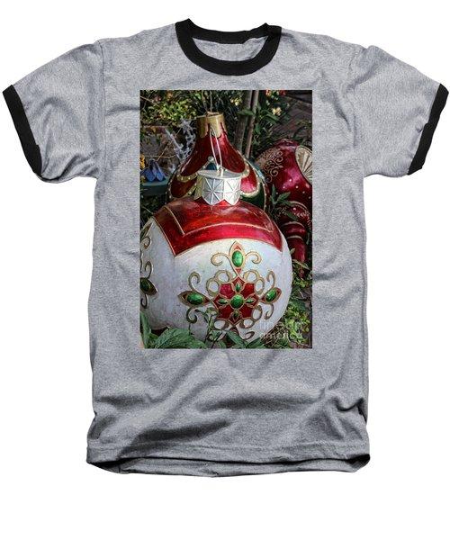 Merry Joyful Christmas Baseball T-Shirt