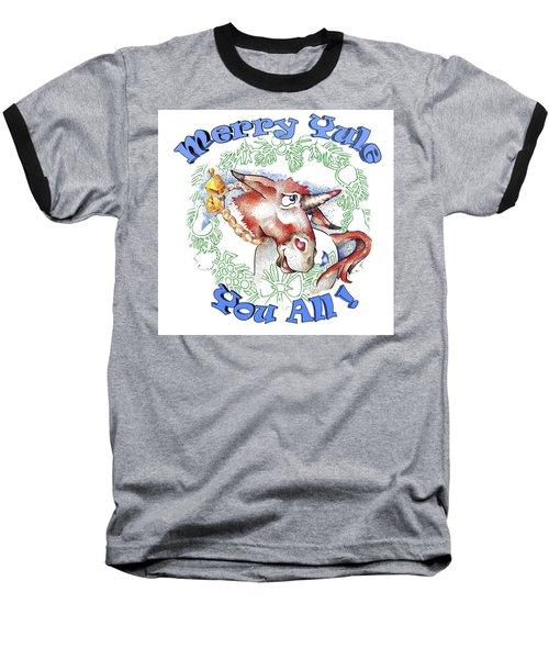 Real Fake News Merry Yule You All Baseball T-Shirt