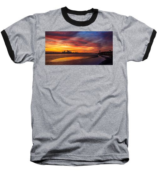Mersey Sunrise Baseball T-Shirt